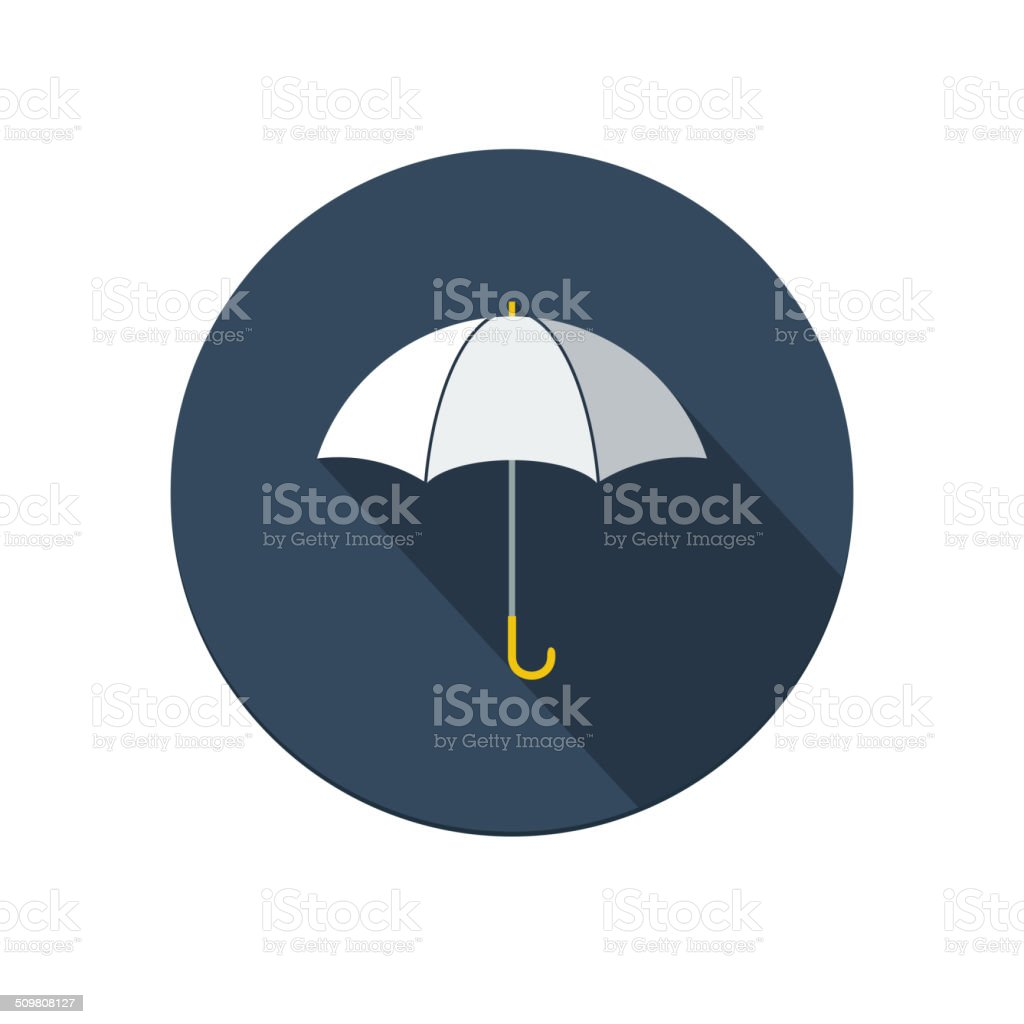 Umbrella icon vector art illustration