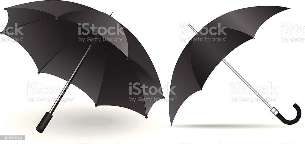 Umbrella royalty-free stock vector art