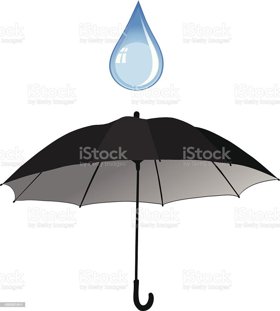Umbrella royalty-free stock vector art