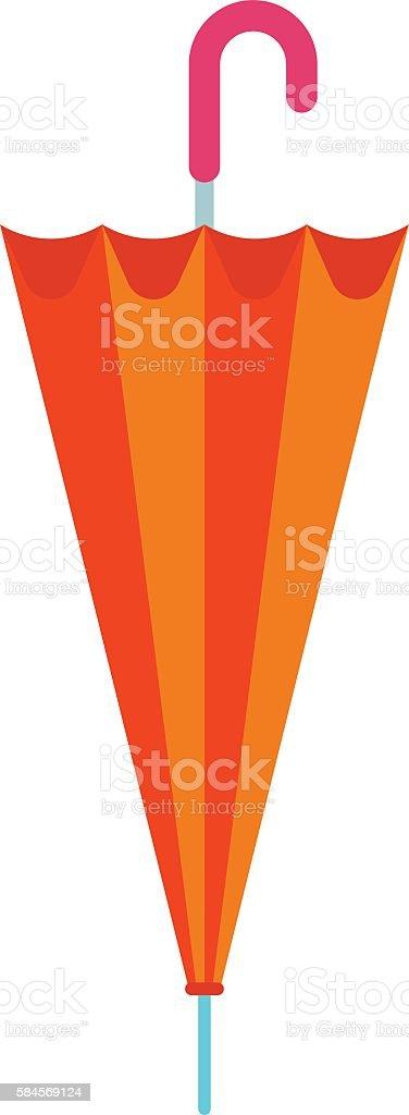 Umbrella vector illustration. vector art illustration