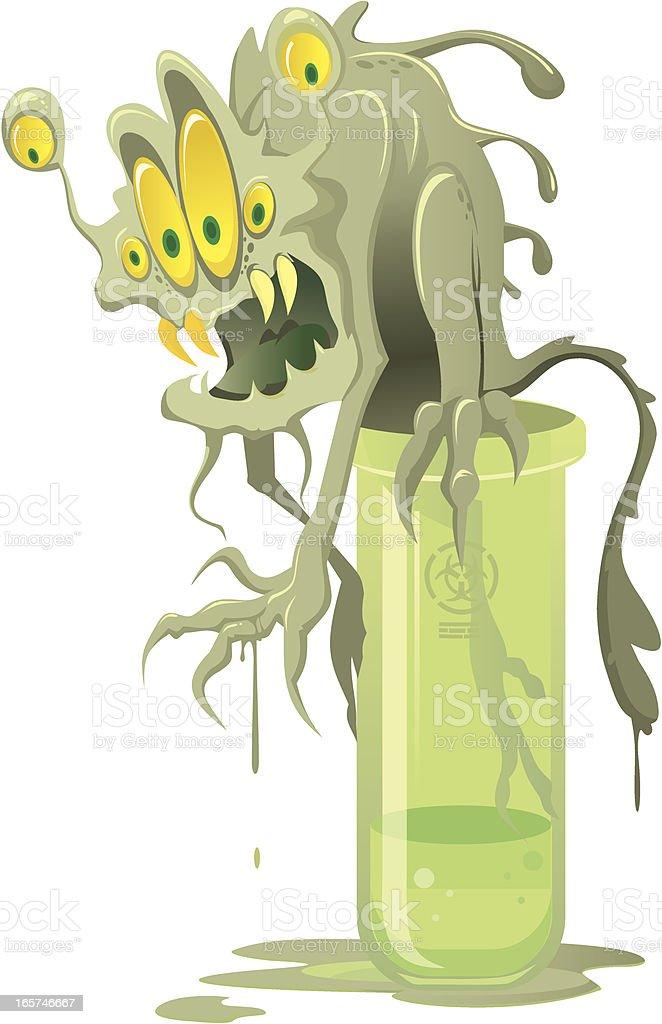 Uncontrollable virus royalty-free stock vector art
