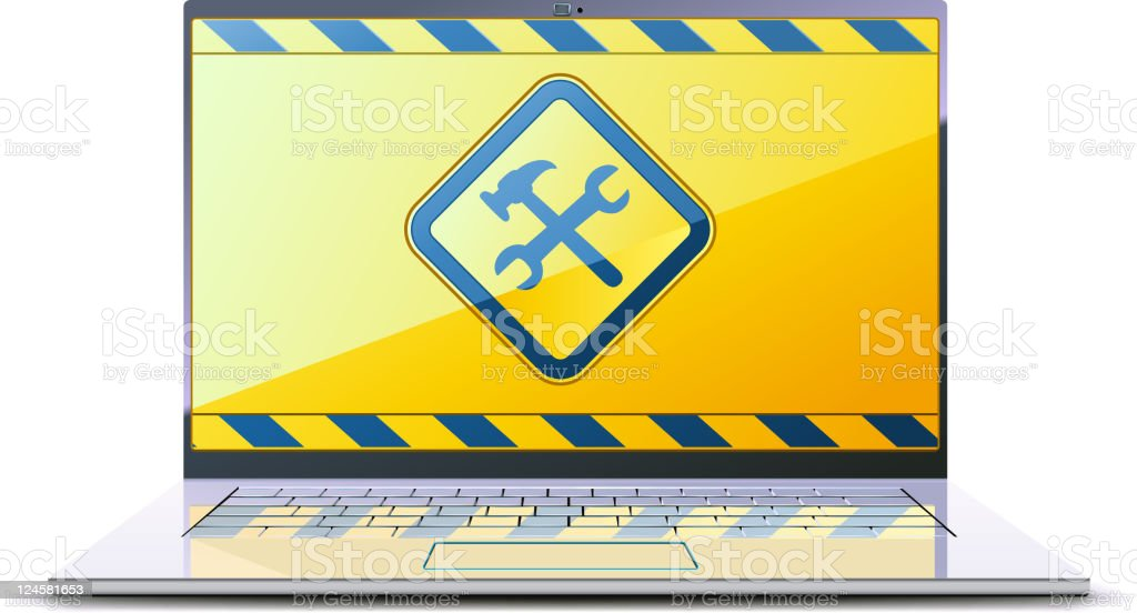 Under construction concept royalty-free stock photo