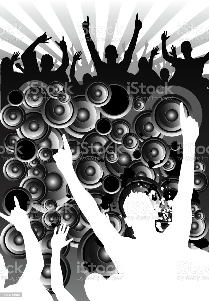 Underground Sounds royalty-free stock vector art