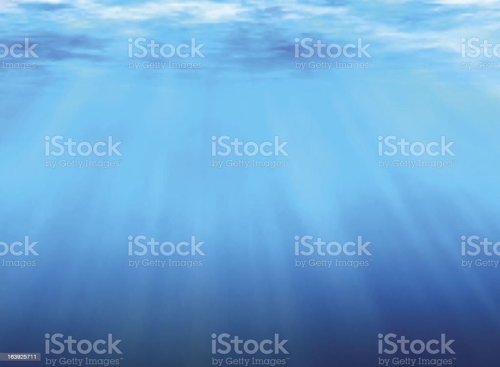 Underwater background royalty-free stock vector art