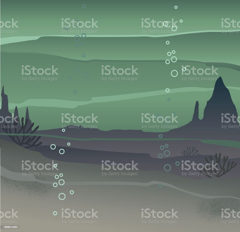 Underwater Background royalty-free stock vector art