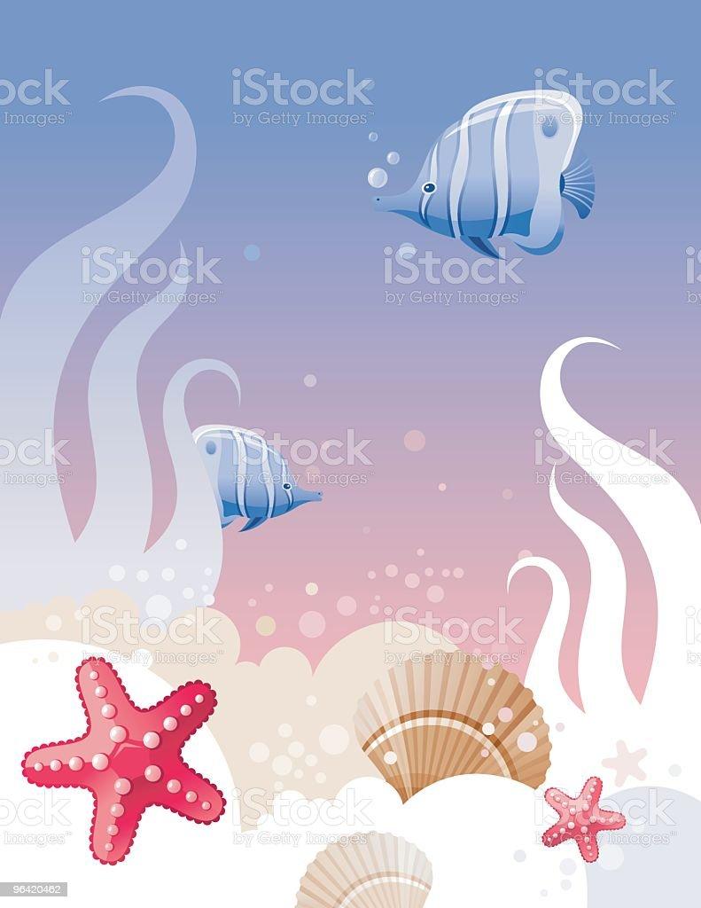 Underwater royalty-free stock vector art