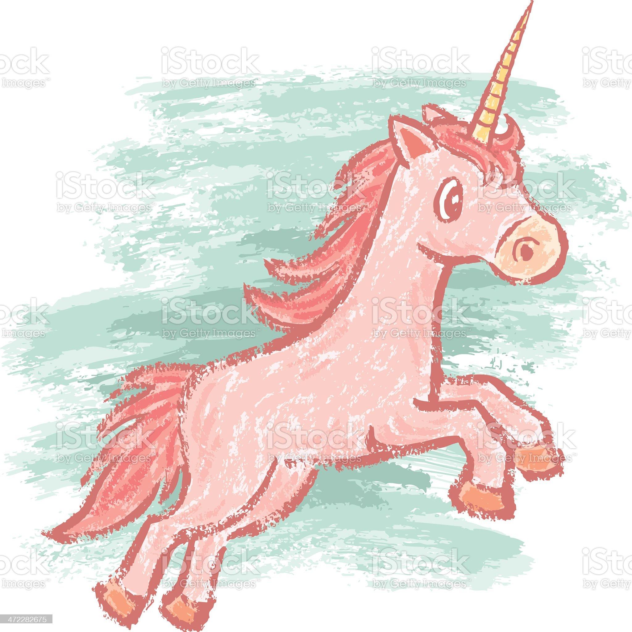 Unicorn royalty-free stock vector art