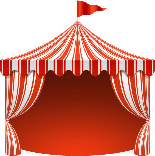 Circus Tent Clip Art, Vector Images & Illustrations - iStock