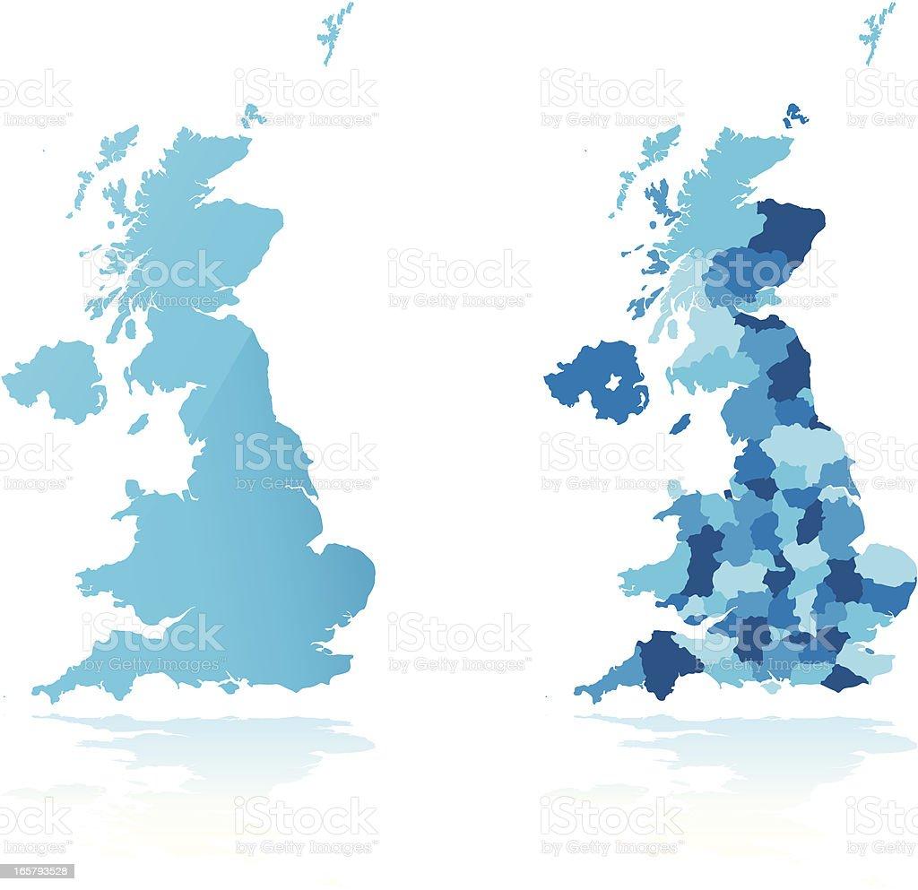 United Kingdom vector art illustration