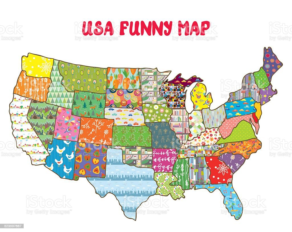 Maps They Didnt Teach You In School Bored Panda Funny Map - Weird maps of the us