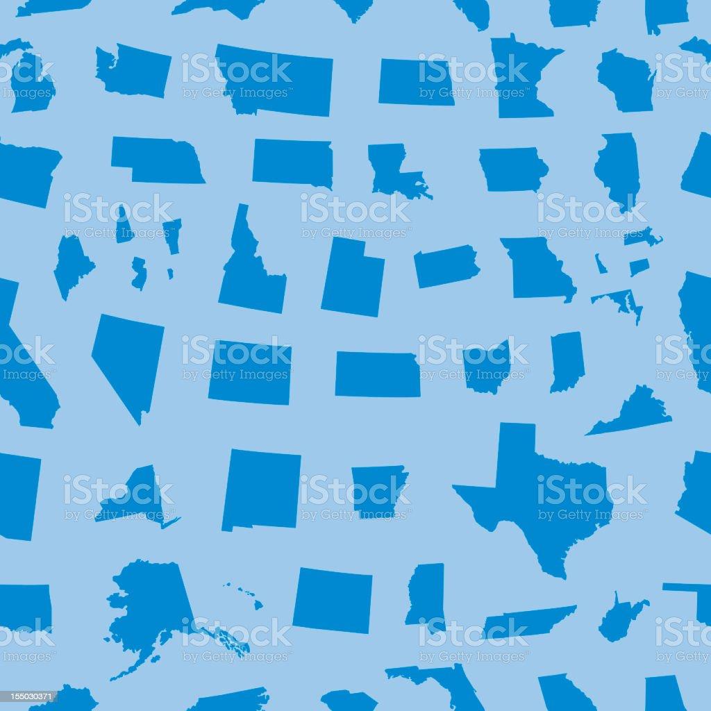 United States seamless pattern stock photo