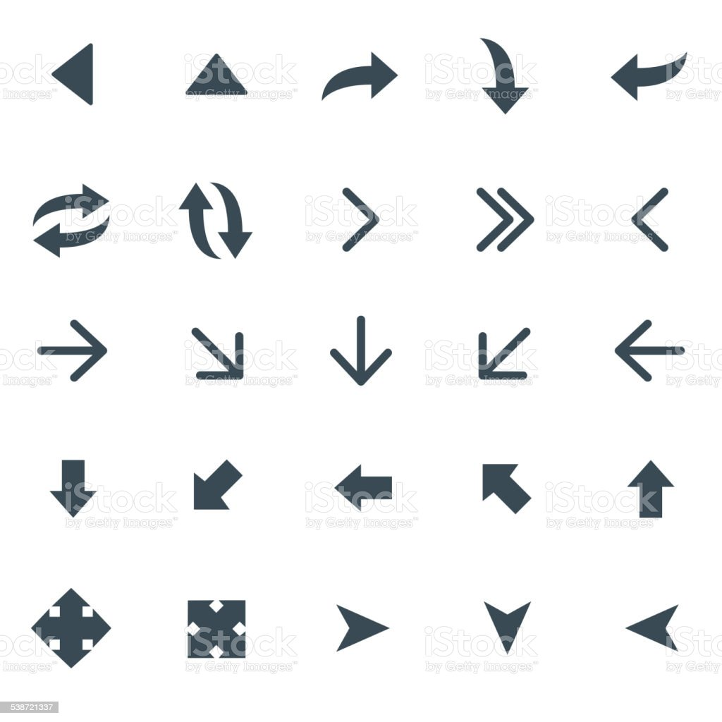 Universal Icons Set 15 vector art illustration