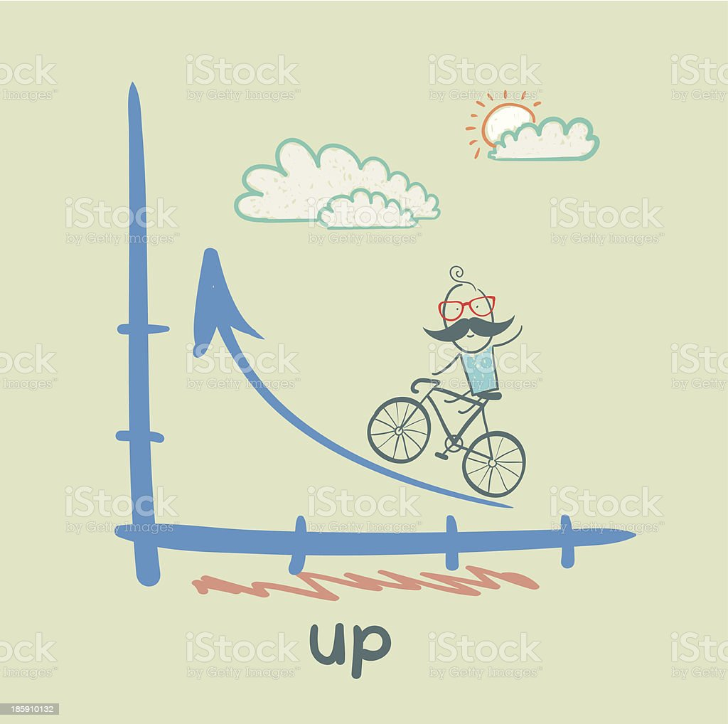 up royalty-free stock vector art