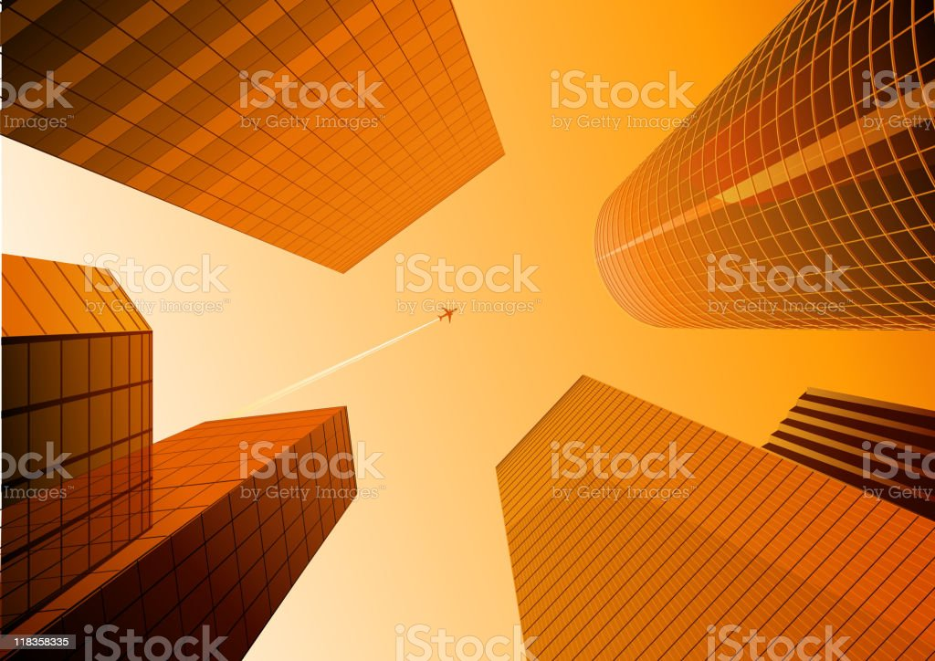 urban background royalty-free stock vector art