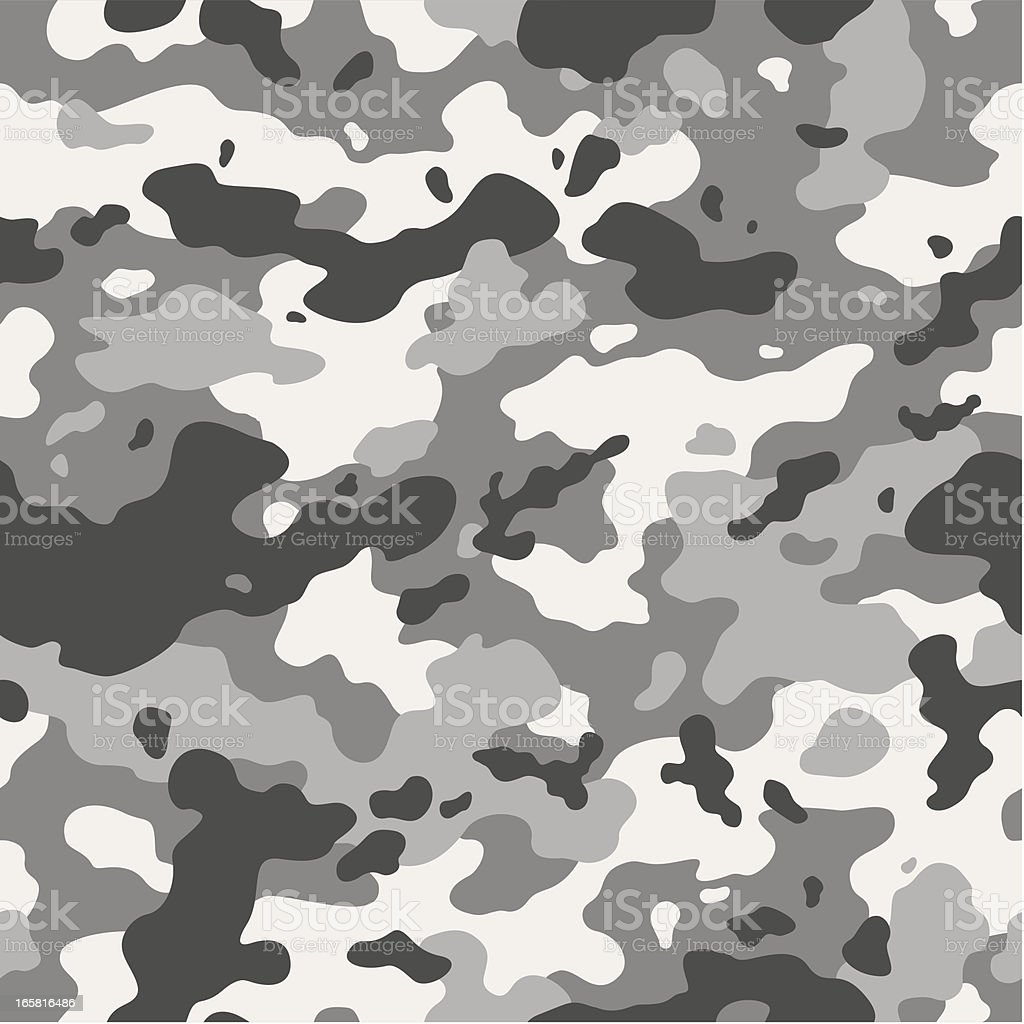 Urban camouflage seamless vector art illustration