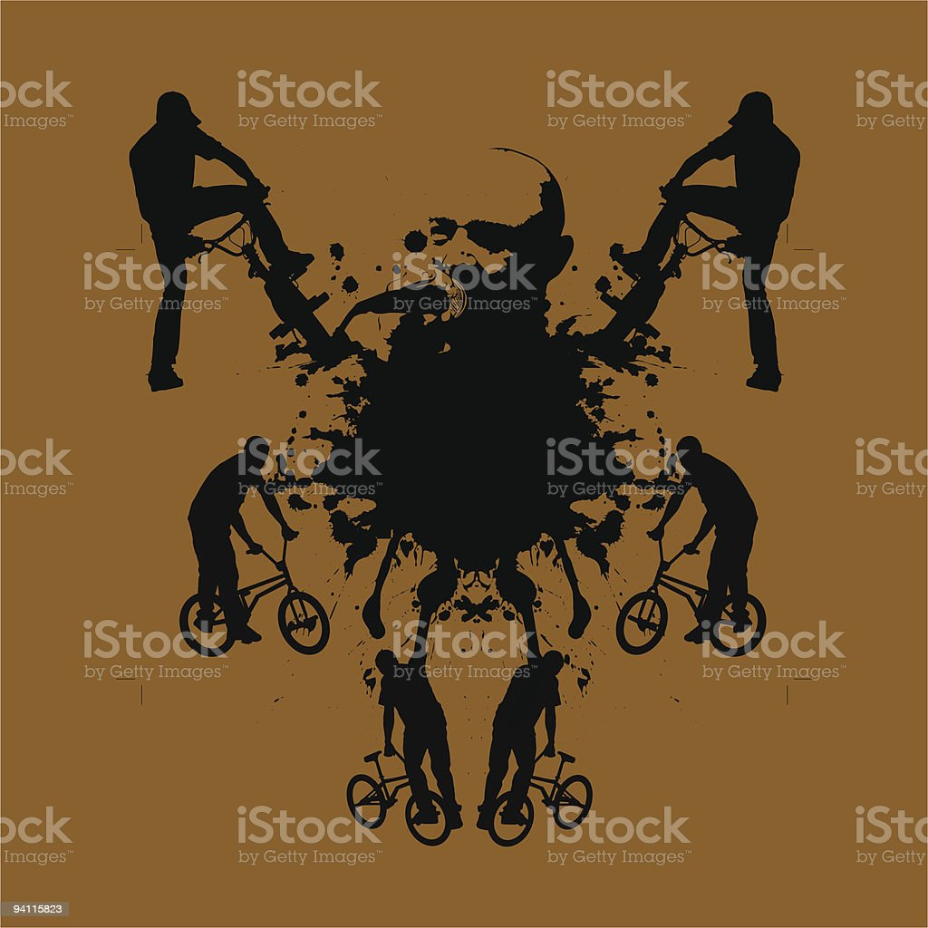 urban extrime royalty-free stock vector art
