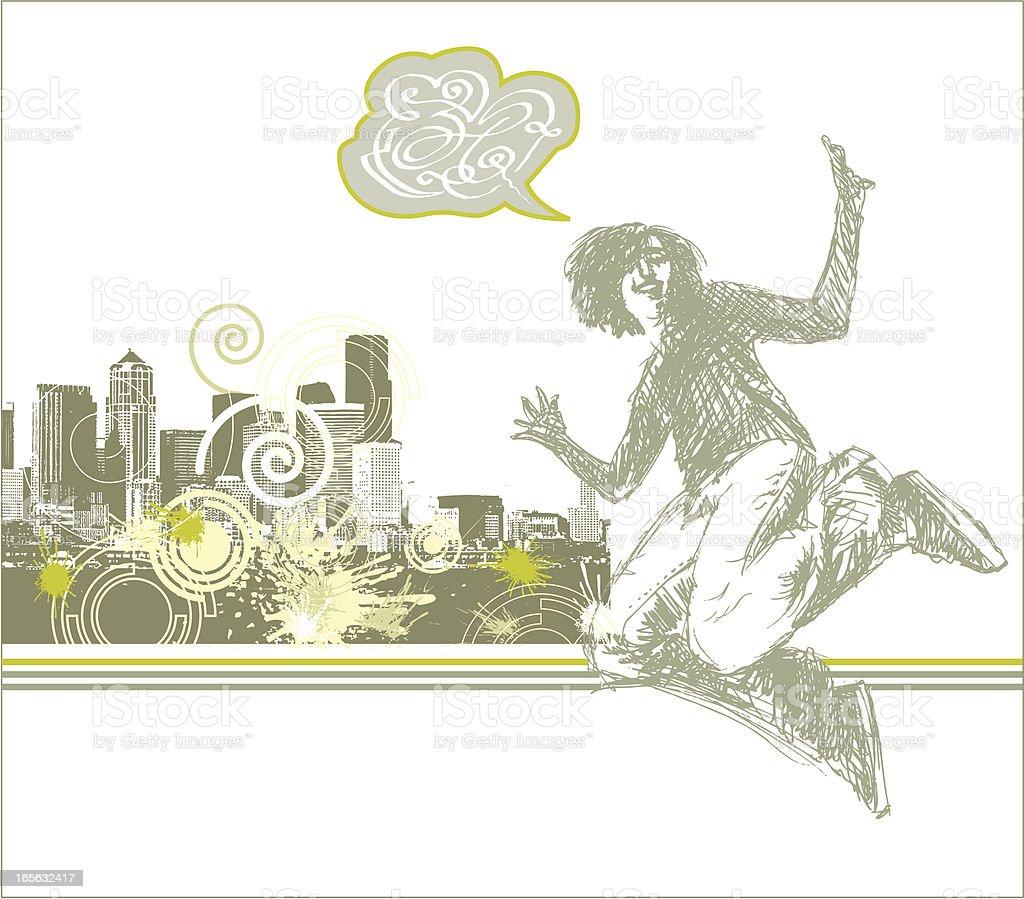 Urban Grunge royalty-free stock vector art