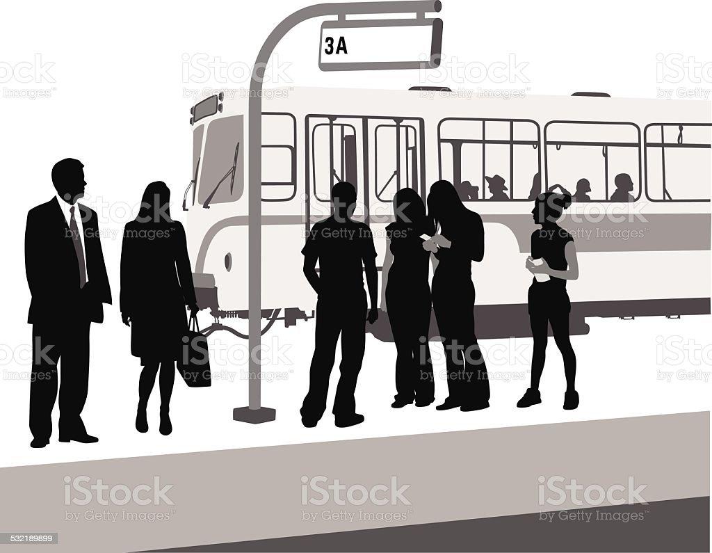UrbanServices vector art illustration