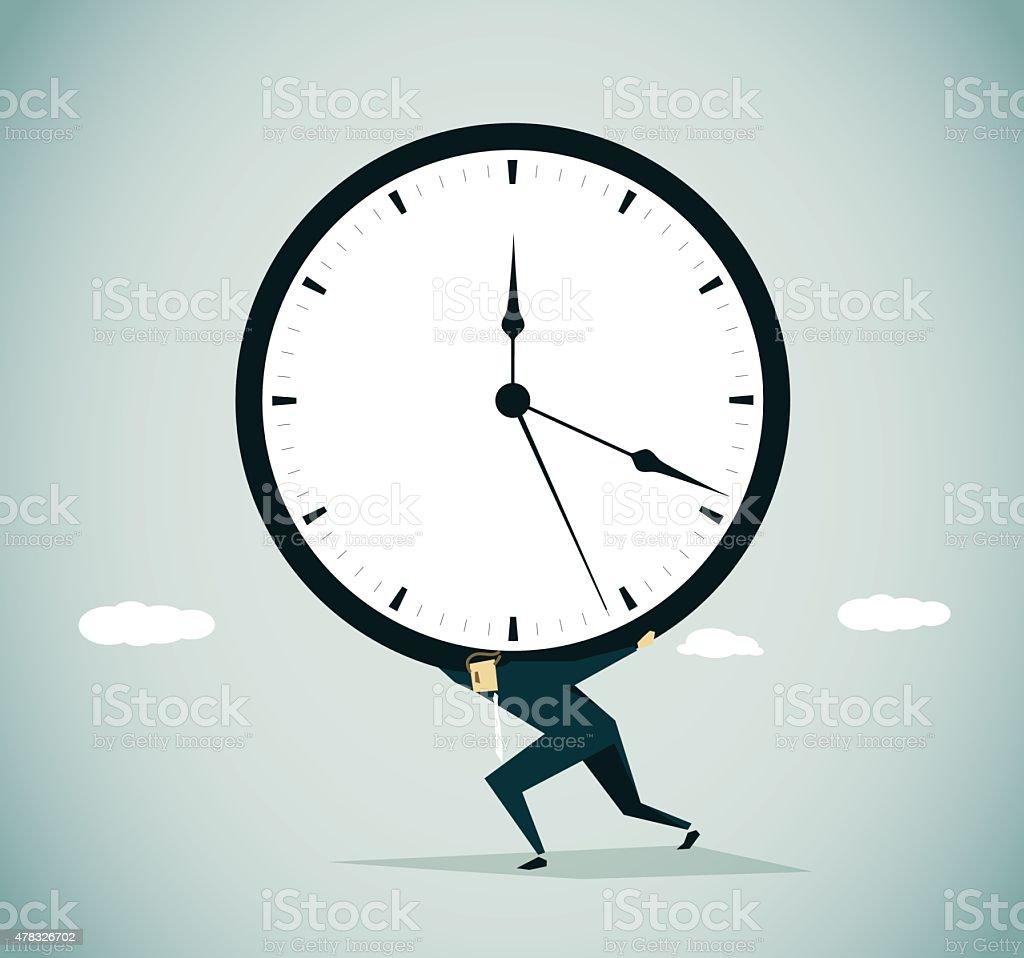 Urgency vector art illustration