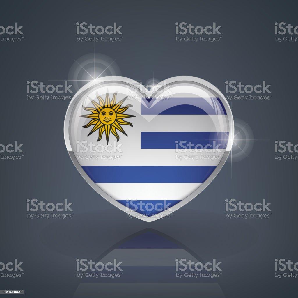 Uruguay vector art illustration