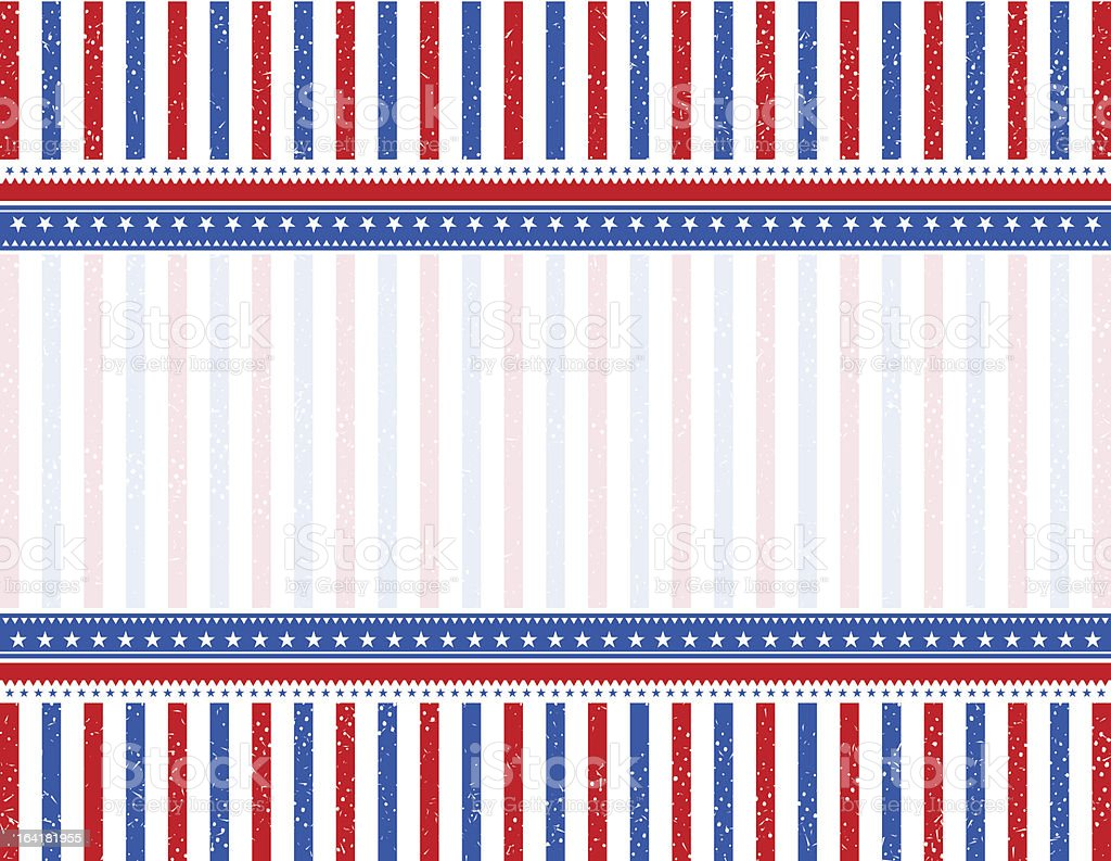 usa  background with place for text. royalty-free stock vector art