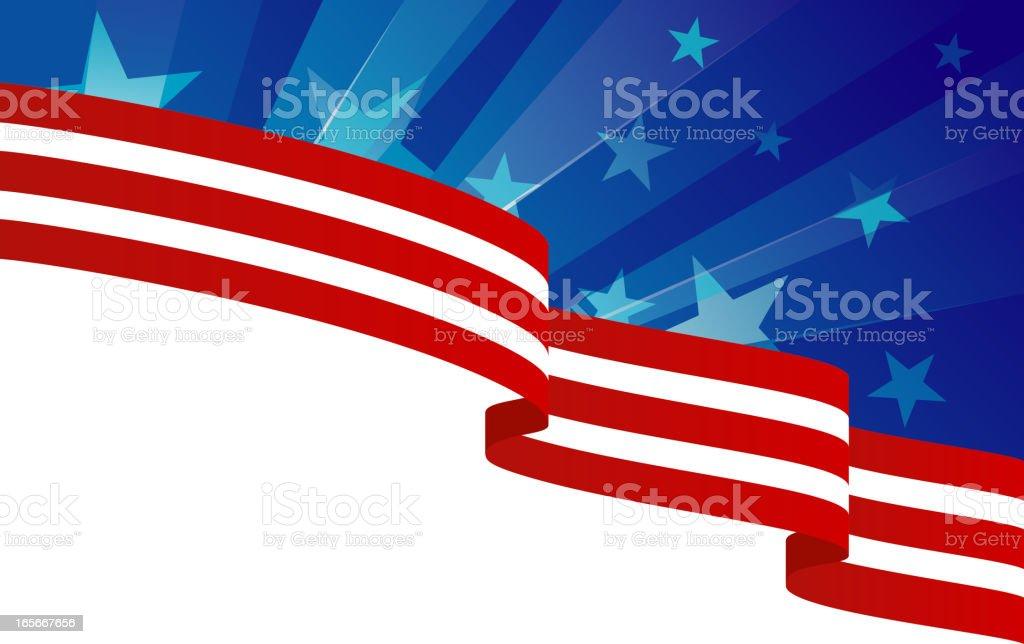 usa flag theme royalty-free stock vector art