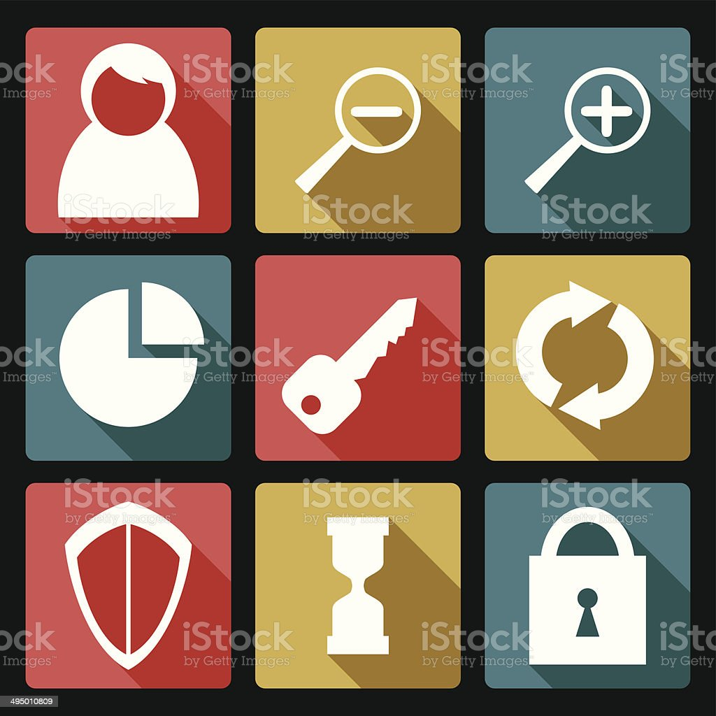 User icons royalty-free stock vector art