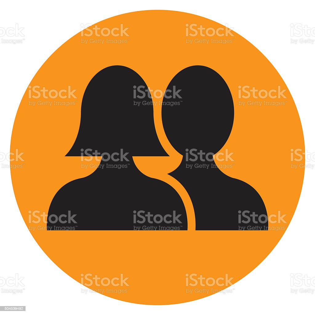 User profile icon stock photo