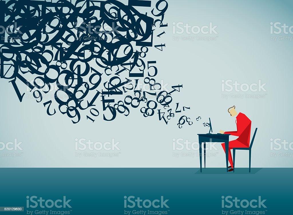 Using Computer vector art illustration