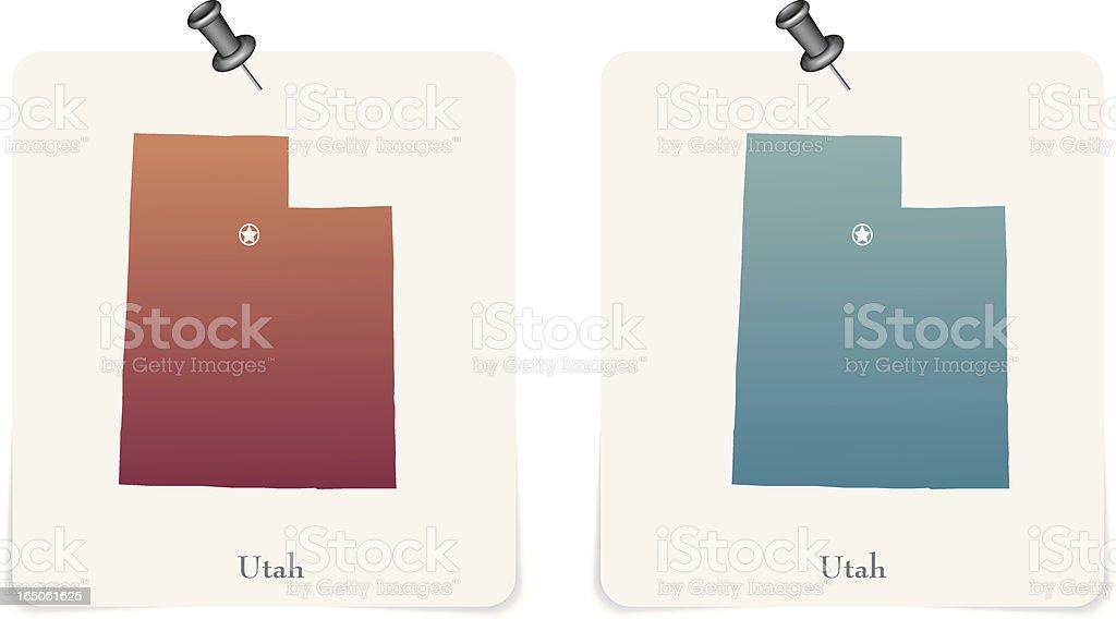 Utah royalty-free stock vector art