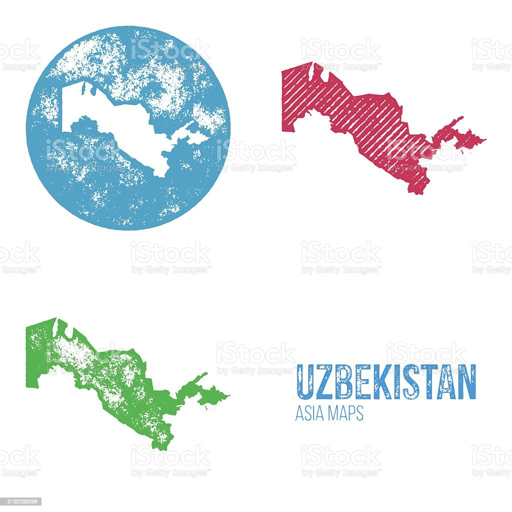 Uzbekistan grunge retro maps asia stock vector art 516208596 istock uzbekistan grunge retro maps asia royalty free stock vector art gumiabroncs Images