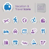 Vacation & Travel Related Icons