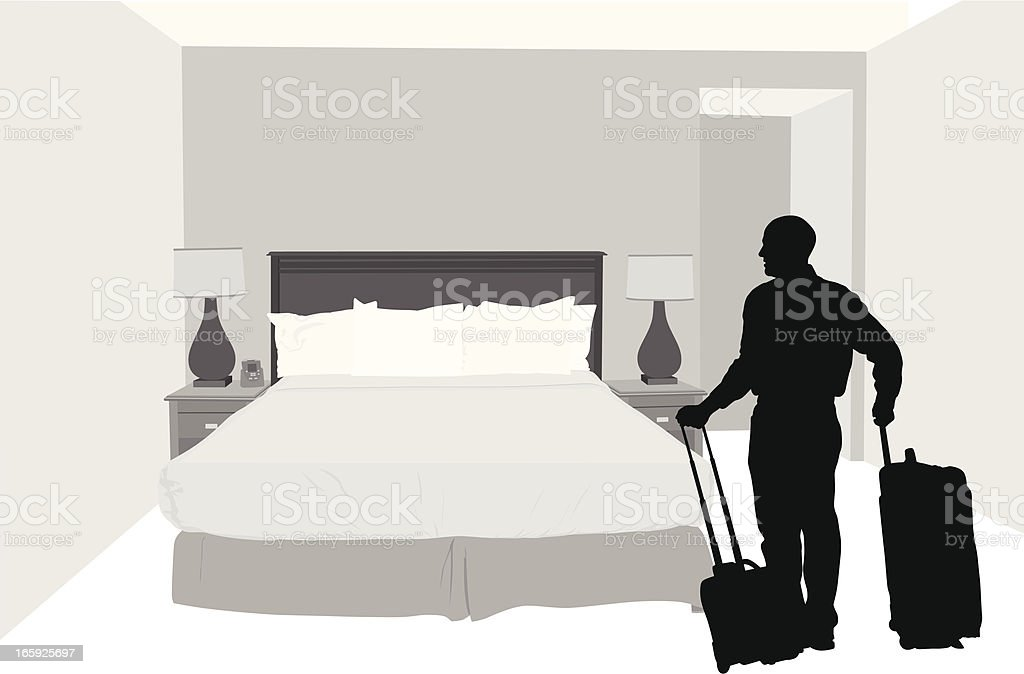 Vacation Vector Silhouette royalty-free stock vector art