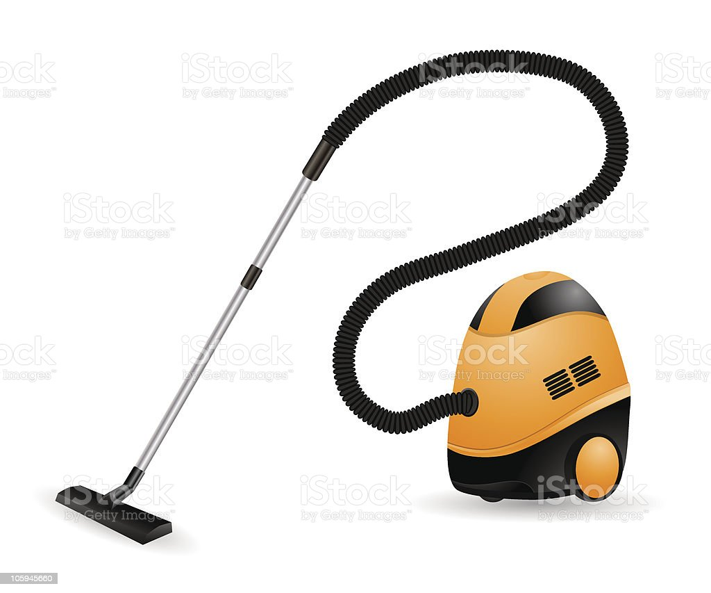 Vacuum cleaner royalty-free stock vector art