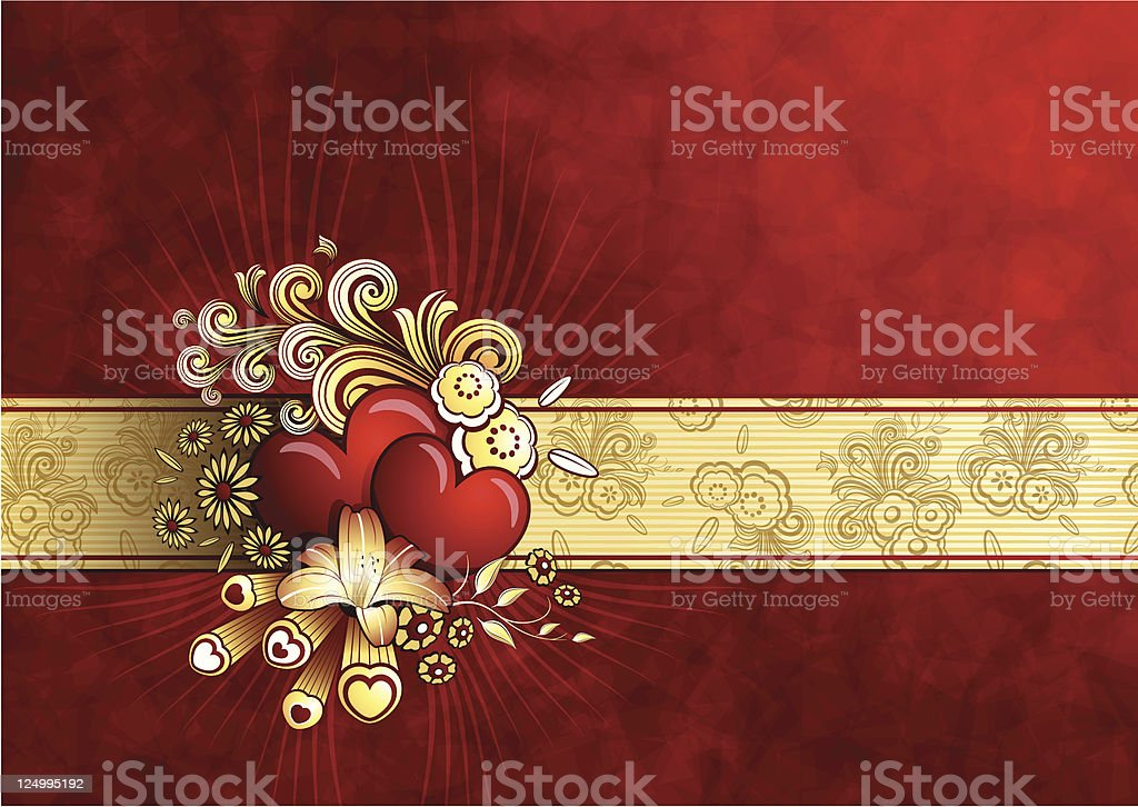valentine abstract royalty-free stock vector art