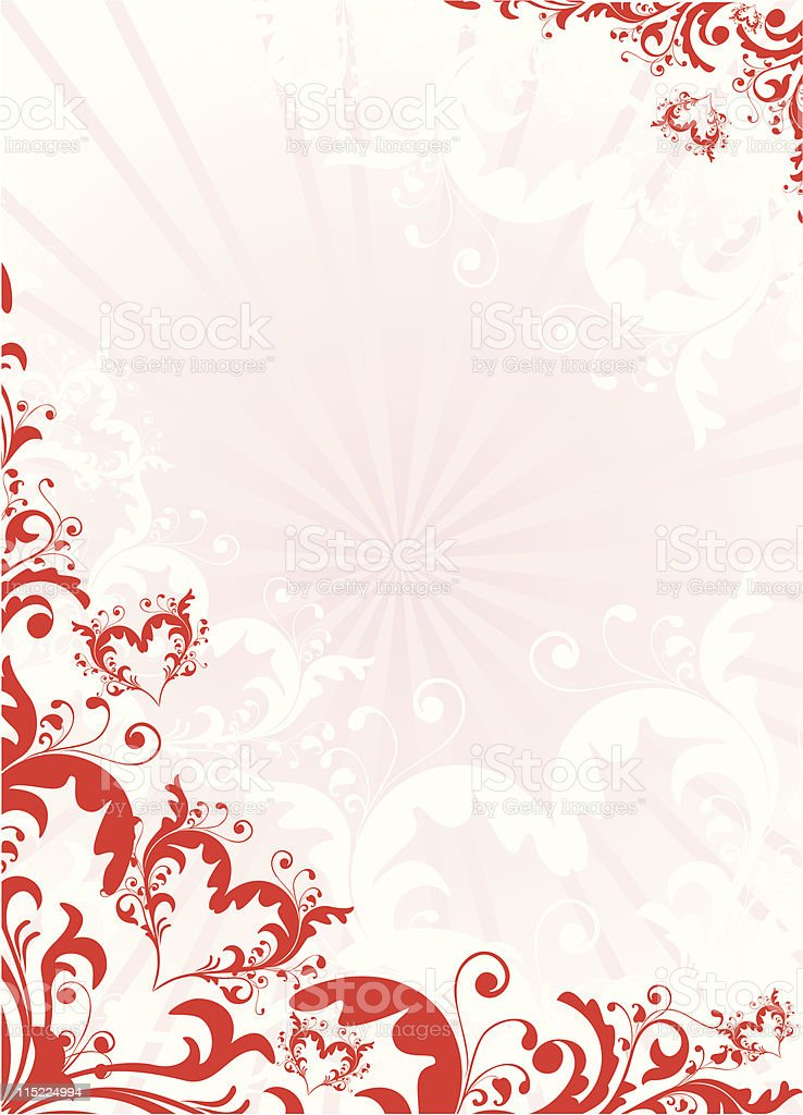 valentine background royalty-free stock vector art