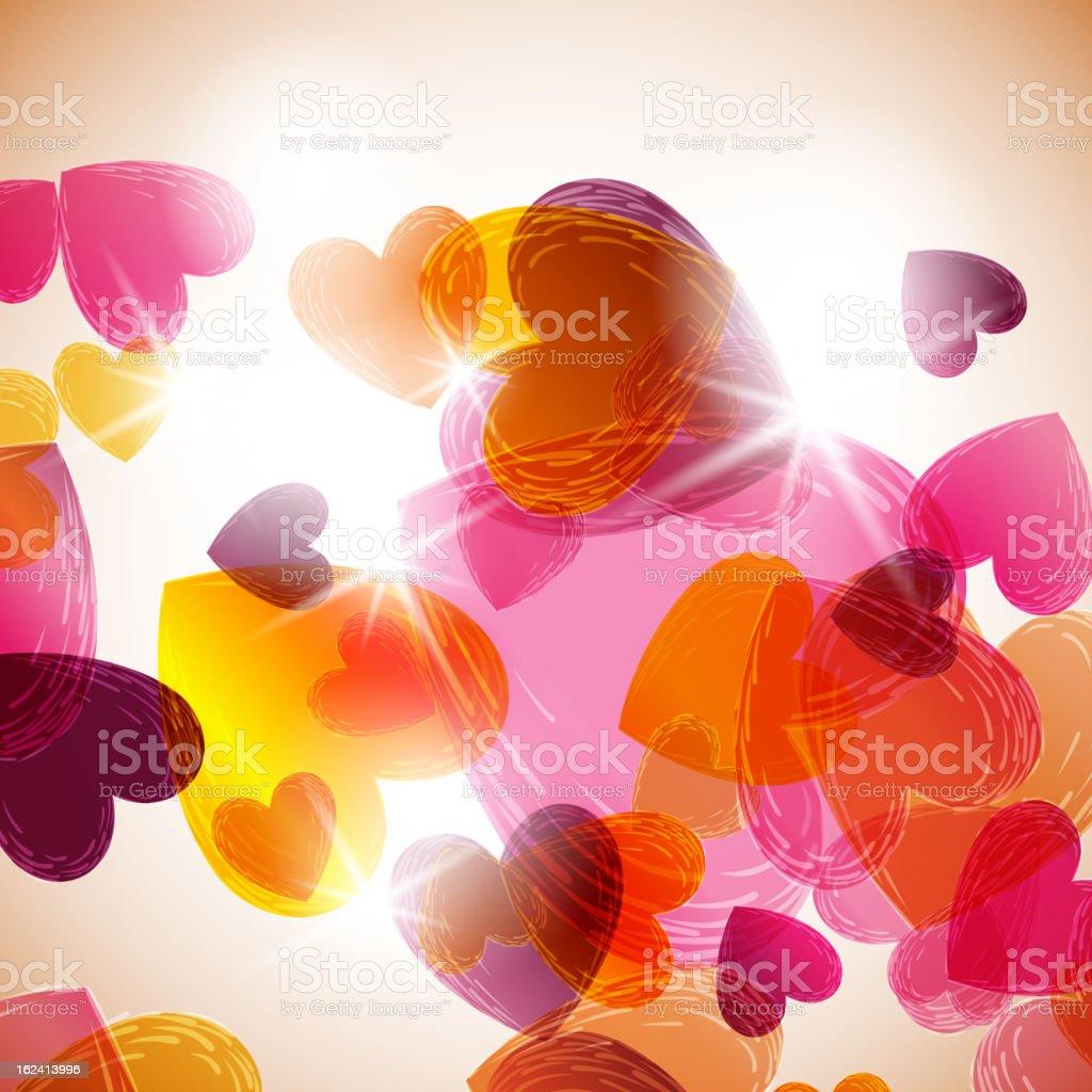 valentine background royalty-free stock vector art