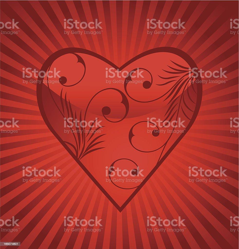 Valentine background . royalty-free stock vector art