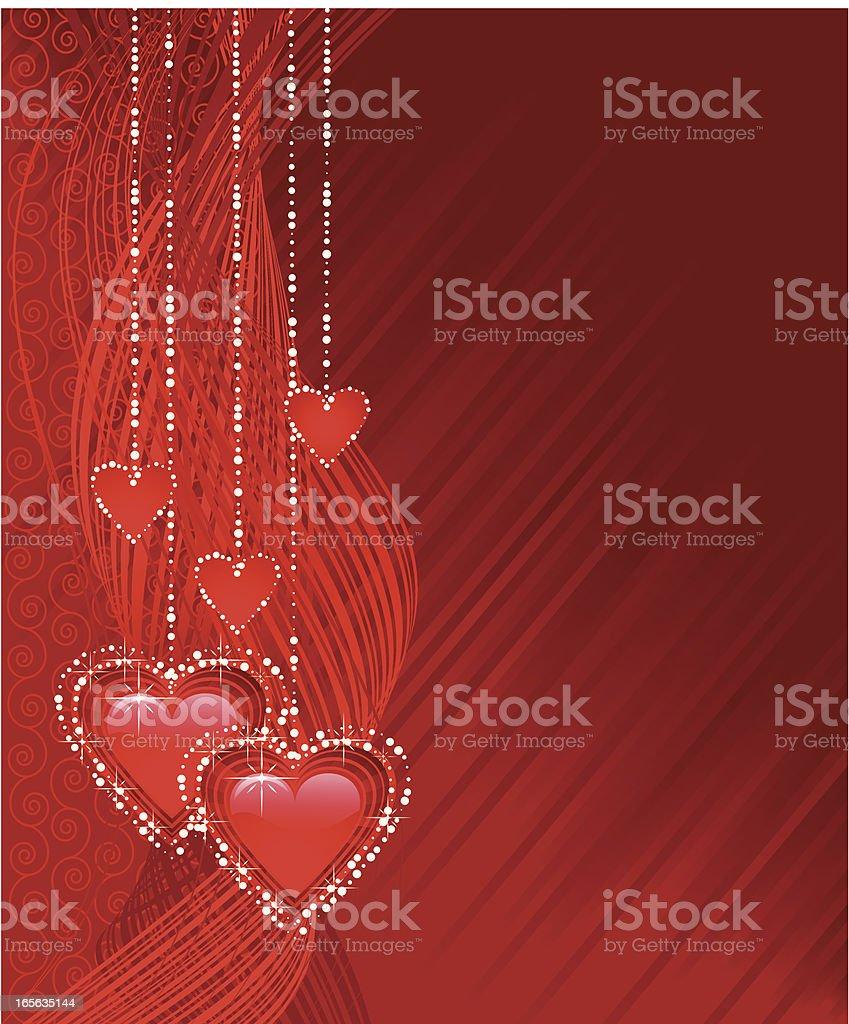 Valentine background. royalty-free stock vector art