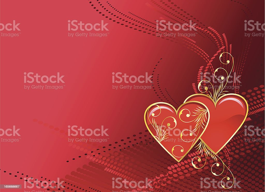 Valentine background. royalty-free stock vector art