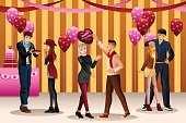 Valentine Day Dance Party