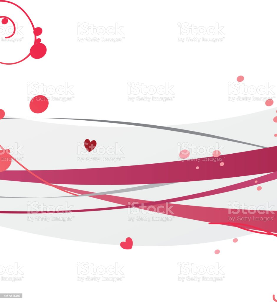Valentine design royalty-free stock vector art