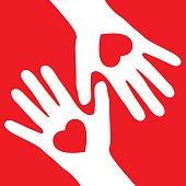 Valentine Heart Hands