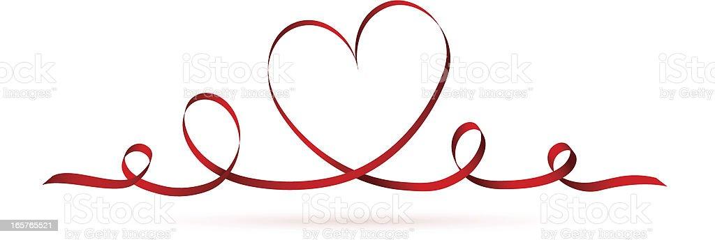 Valentine heart royalty-free stock vector art
