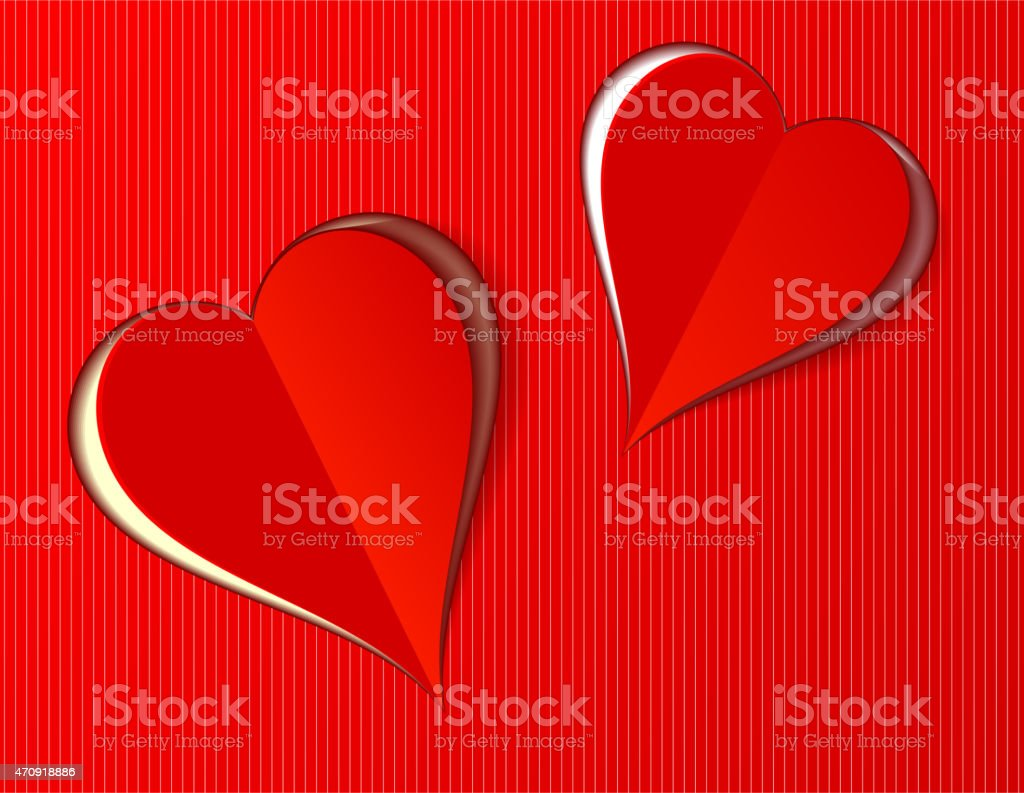 Corazones de San Valentín amor para cualquier ocasión illustracion libre de derechos libre de derechos