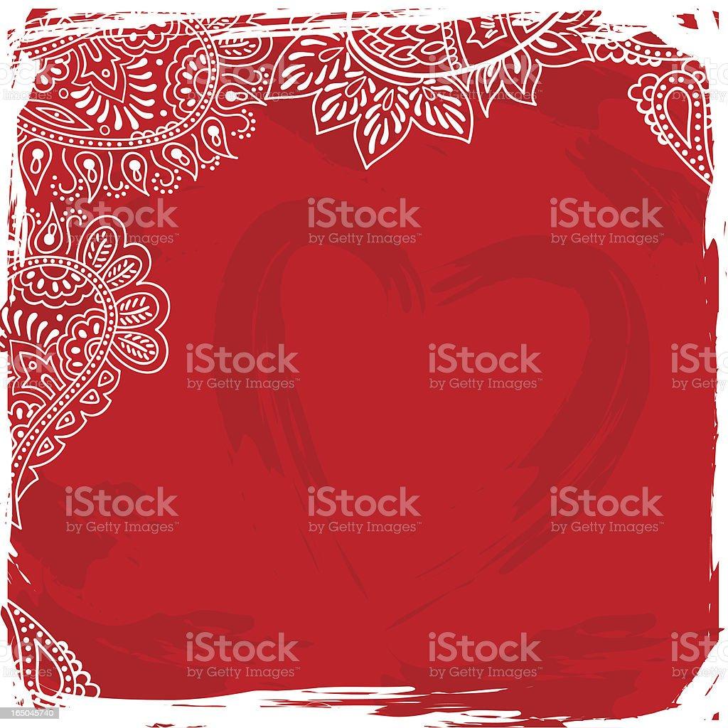 Valentine pattern royalty-free stock vector art