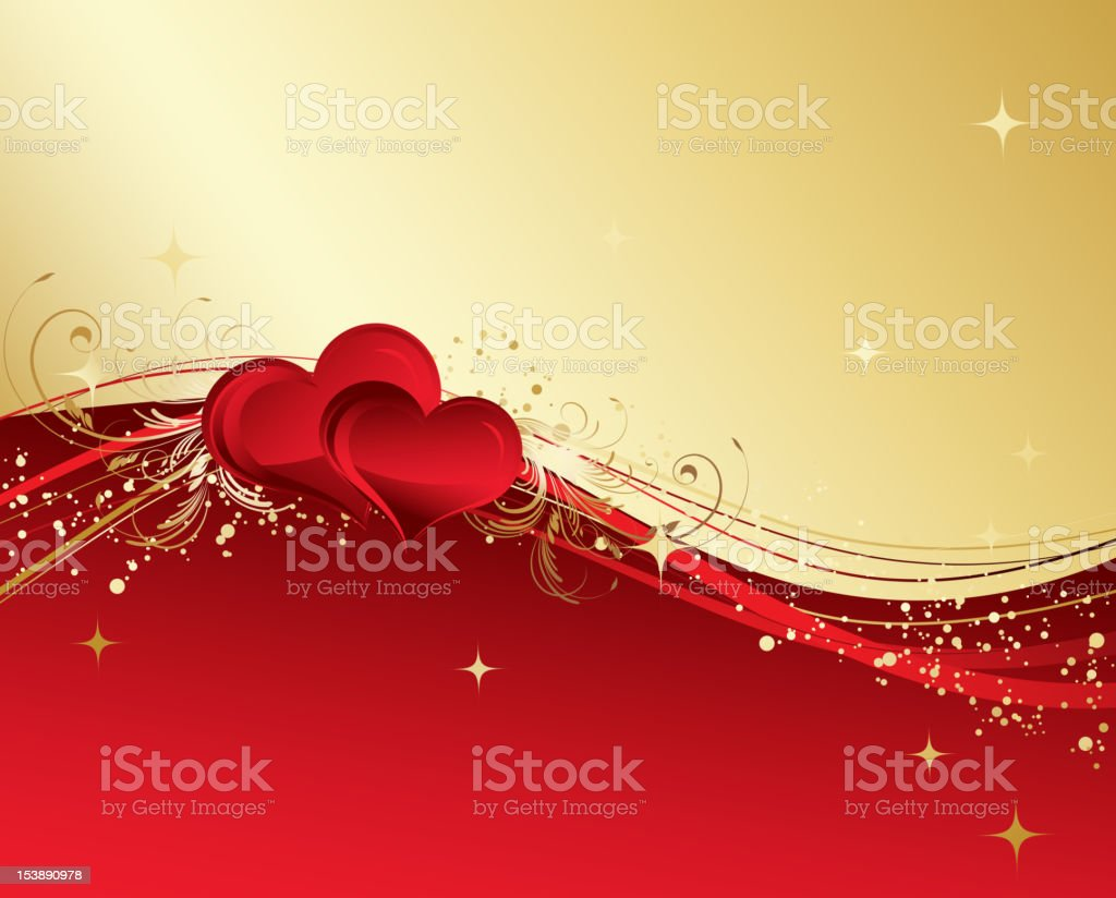 Valentines background royalty-free stock vector art