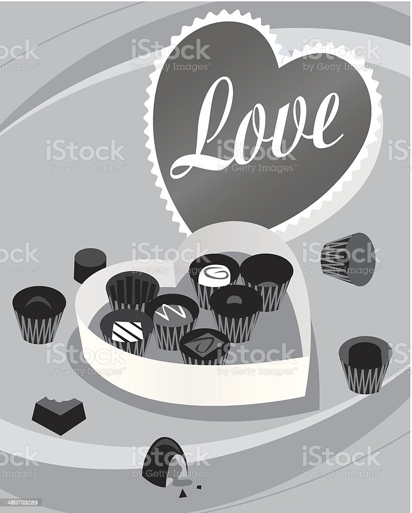 Valentines Candy royalty-free stock vector art