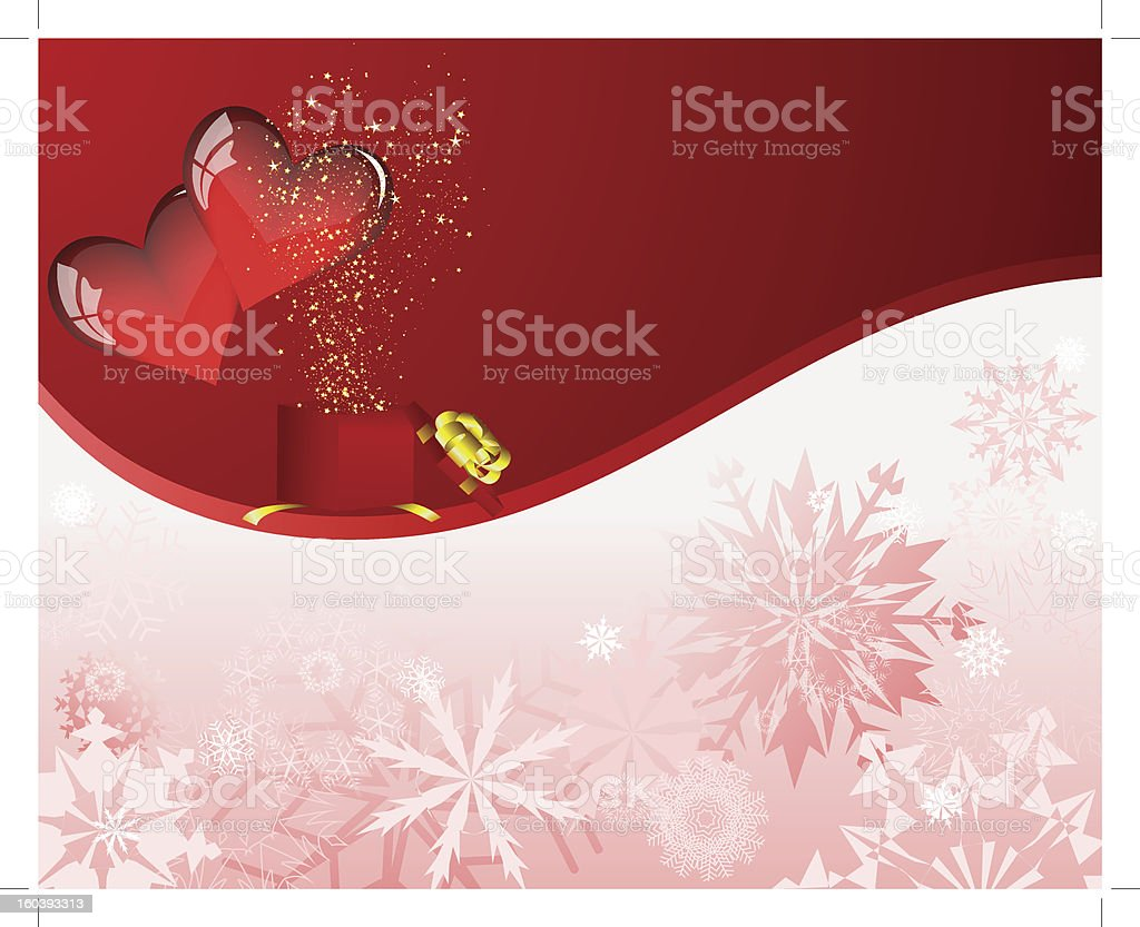 Valentines card royalty-free stock vector art