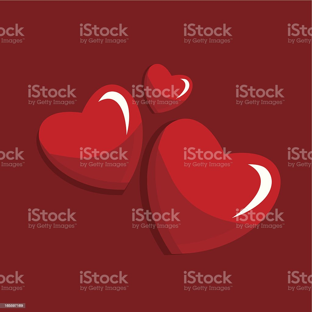 Valentine?s card royalty-free stock vector art